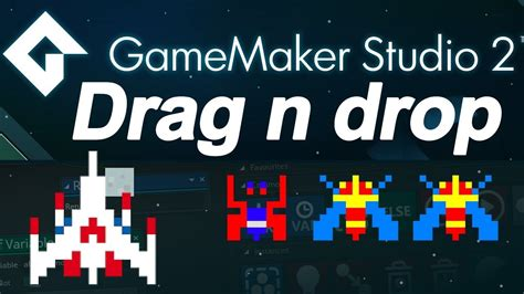 construct 2 drag and drop tutorial game maker studio 2 drag and drop tutorial spaceship