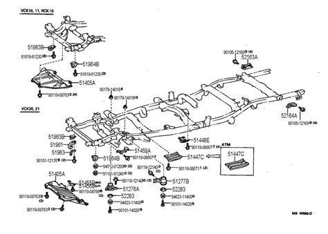 toyota t100 parts diagram 1995 toyota t100 wiring diagram for lighting toyota t100