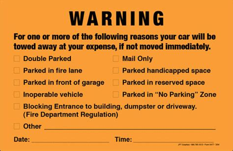 28 Images Of Warning Parking Ticket Template Bosnablog Com Parking Warning Notice Template