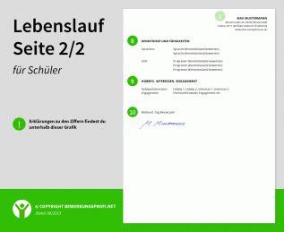 Lebenslauf Muster 2014 Fur Ausbildung Lebenslauf Muster Sch 252 Ler Ausbildung Praktikum