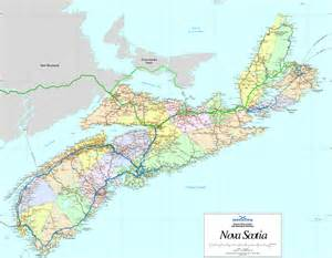 maps scotia canada large detailed map of scotia with cities and towns