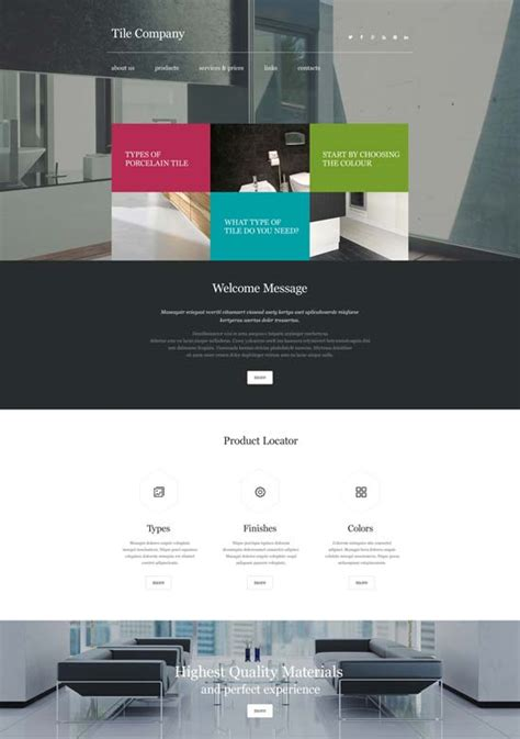 interior design website template 50 interior design furniture website templates 2017