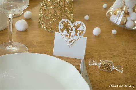 table noel blanc table de no 235 l blanc et or autour du dressingautour du