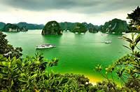 Halong Bay Vietnam Nature Oceans Hd Wallpaper 1691967