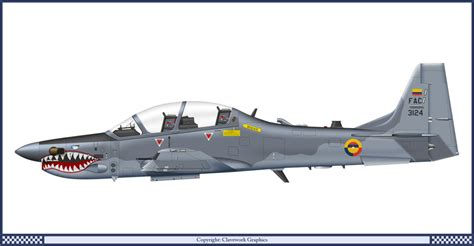 Air Force One Installation p 51d colombian air force skin pack fictional