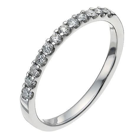platinum quarter carat ring ernest jones
