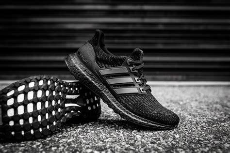 Adidas Ultra Boost 20 Tripple Black adidas ultra boost 3 0 black white packer shoes