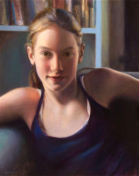 yng girl portraits portrait of a young girl barbara johnson