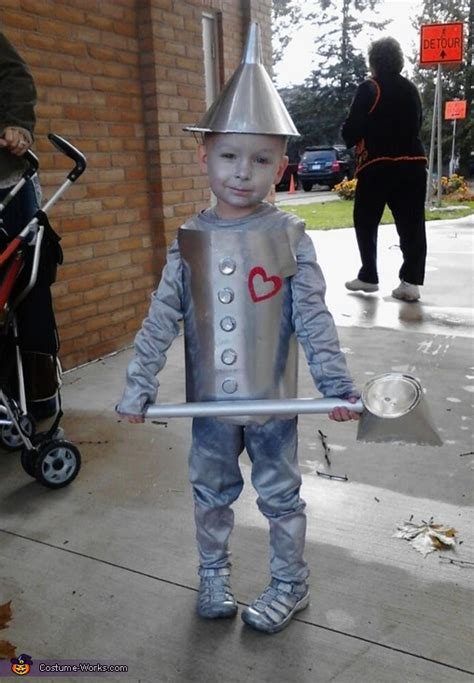 tin man diy costume