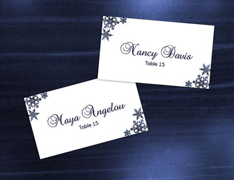 diy name cards diy printable wedding place name card template 2369774