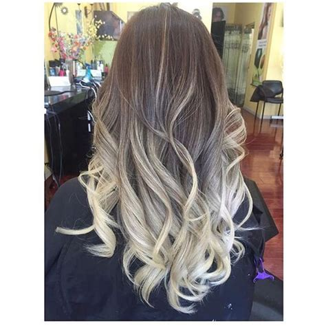 how to do ash ombre highlight on hair ash blonde ombre hair hairstyles pinterest ash