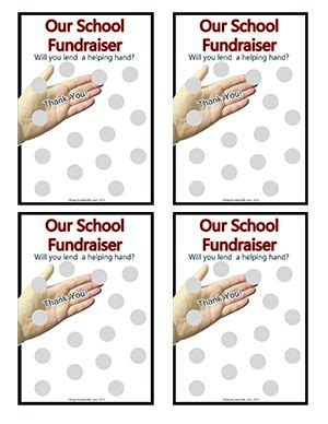 fundraising scratch card template 17 best images about printable templates on