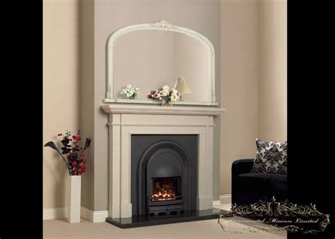 Mirrors Fireplace Mantels by Ivory Mantel Mirrors From Ornamental Mirrors Limited