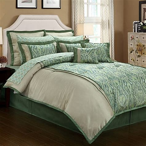 olive green bedding buy olive green comforter from bed bath beyond