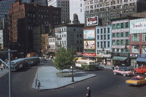 colors nyc color photos of new york in 1960s vintage everyday