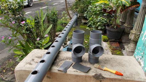 Pipa Tanaman Hidroponik hidroponik di pipa pvc pertanian hidroponik