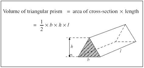 How To Make A Triangular Prism Out Of Paper - unit 22 section 6 volume of a triangular prism