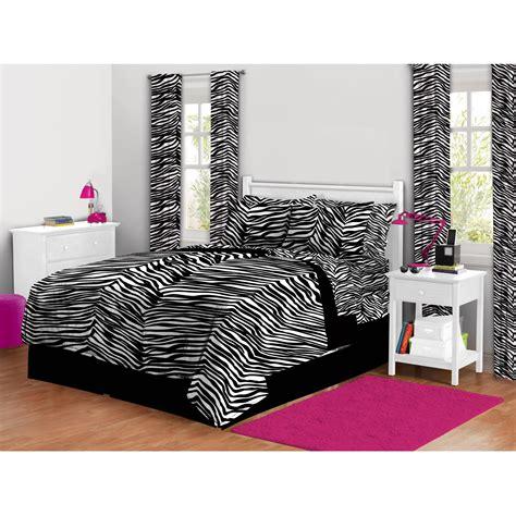 zebra print bedroom set home essence charlize 7 piece bedding comforter set gray