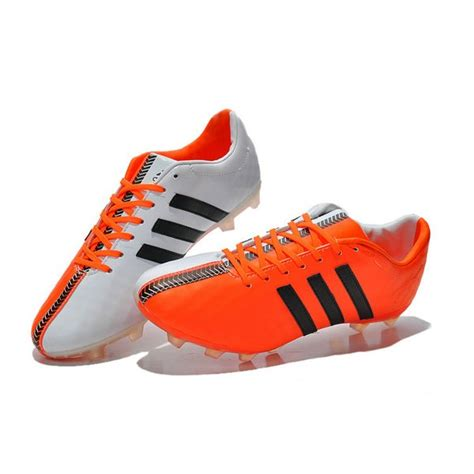 orange football shoes mens soccer cleats adidas 11pro trx fg new football boots