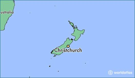 map world chch where is christchurch new zealand where is