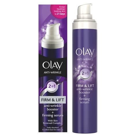 Serum Anti Aging Olay olay anti wrinkle firm lift 2in1 anti wrinkle booster