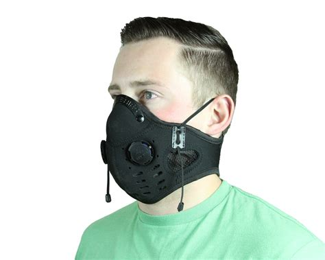 most comfortable dust mask elite series neoprene dust mask black edmblk atv tek