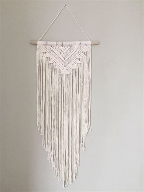 handmade macrame wall hanging wall decor boho chic wall
