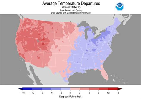 us average temperature map december national climate report february 2015 state of the