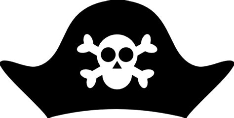 pirate hat template pirate hat clip at clker vector clip