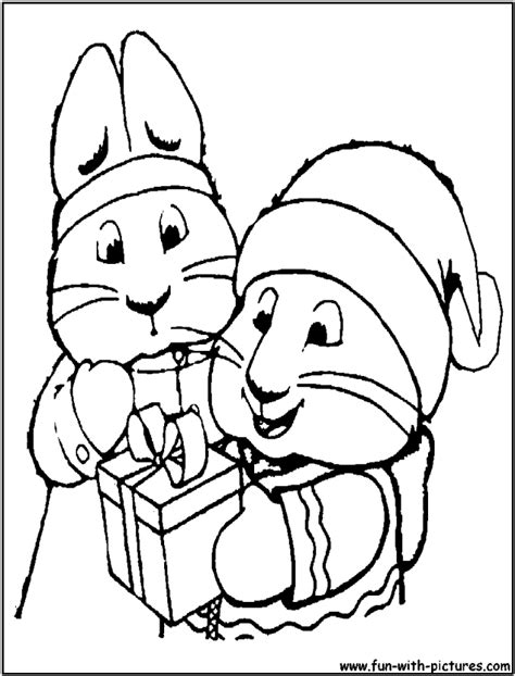 max and ruby coloring pages coloring home