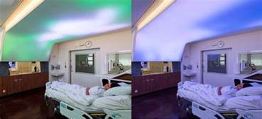 leuchtende decke luminous ceiling from philips simulates daylight to