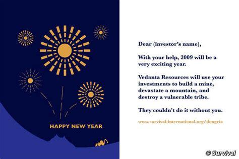 new year greetings ram accionistas de vedanta reciben felicitaci 243 n de a 241 o nuevo
