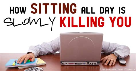 Health Risks Of Sitting At A Desk All Day by Garma On Health Get Better Not