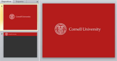 cornell powerpoint template powerpoint templates