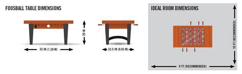 foosball table dimensions coffee table foosball