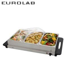 3 section food warmer homeart cookwell stainless steel food warmer buffet server