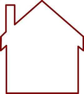 house outline template house outline template free clipart images clipart