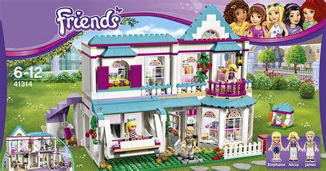 18 Doll Desk New Lego Friends Stephanie S House Set 41314 Building Toy