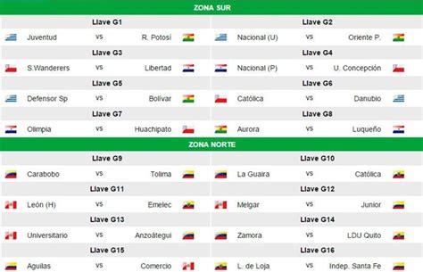 Calendario Copa 2015 Santa F 233 Radio Corporaci 243 N Loja