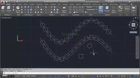 tutorial guide autocad 2011 how to array path autocad 2011 older versions tips youtube