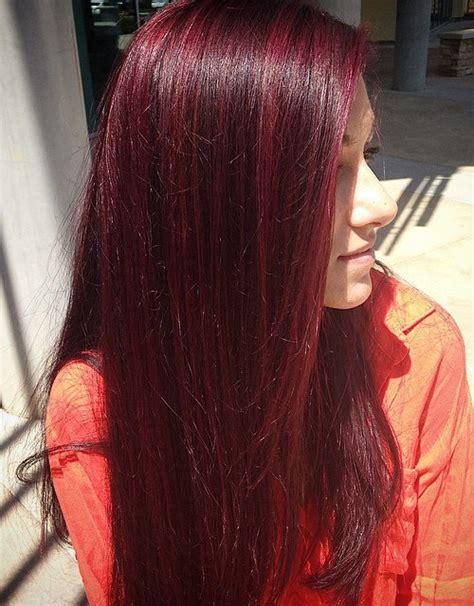 mahogany colored hair hair color inspiration mahogany hair colour