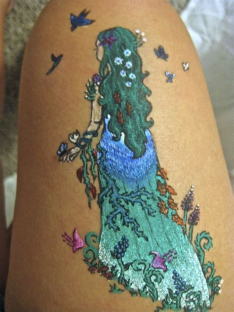 mother nature tattoo designs nature tattoos nature gel pen by s