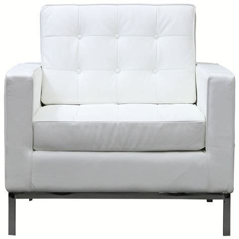 White Leather Sofa Chair by Bateman Leather Armchair White Leather Sofas Leather