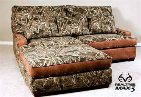 Camo Couches by Would You Put This Realtreemax5 Camo Sectional In