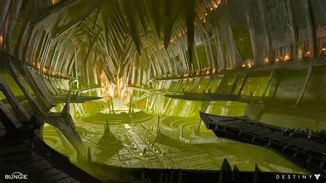 Interior Sites interior concept video games artwork
