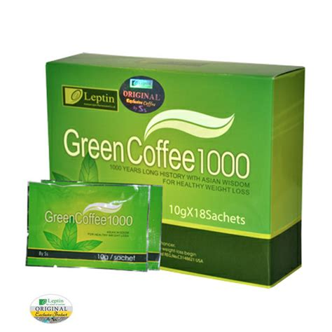 Green Coffee Diet by Leptin Green Coffee 1000 Weight Loss Blend
