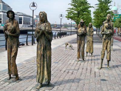 la gran hambruna en la hambruna en irlanda