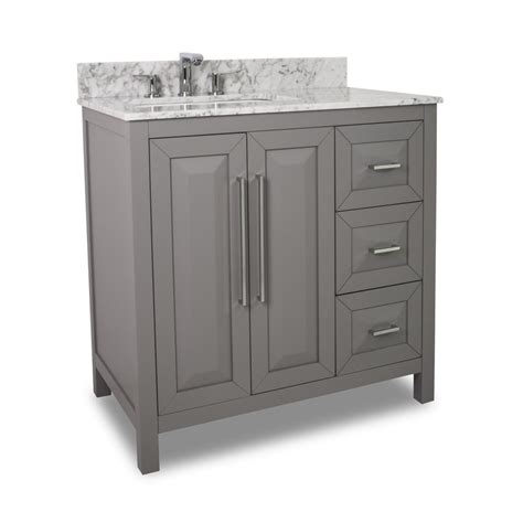 jeffrey alexander bathroom vanities jeffrey alexander 36 quot cade contempo single sink bathroom