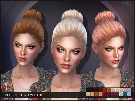 sims 3 cc wedding hair nightcrawler sims nightcrawler trixie sims 4