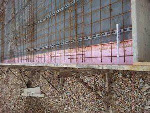 Bewehrungsmatten Richtig Verlegen by Bodenplatte Bewehrung Steht An Schalung An Pu Folie